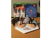 xbox one disney infinity portal two games and three figures