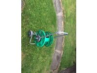 Hozelock large hose reel holds 50m of hose