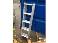 Aluminium 3 sectional loft ladder