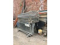 Aprox 30 nr Crowd Control Barrier (Used but in good condition)