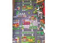 Kids playtime rug