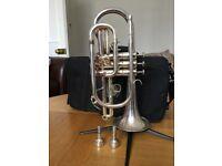 Cornet silver Sebastian Buckley Aquae Sulis reduced for quick sale
