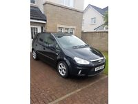 Ford C Max ZETEC 1.6 new mot, Black with grey inside. NEW MOT, really good condition.