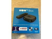 Now TV smart TV box - brand new sealed