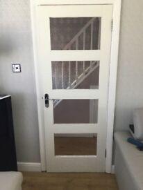 Glass Glazed Door x 2
