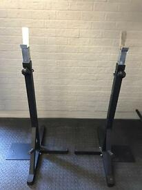 Squat Stands, variable height - GREAT CONDITION
