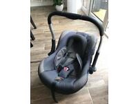 Silver Cross Ventura Infant / Baby Carrier / Car Seat Denim Effect