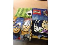 Kid single bed sets- toy story- Lego