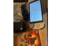 Switch lite with game and charger