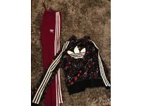 Girls/ small lady's Adidas tracksuit