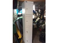 Grey /silver filing cabinets with keys