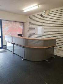 Business Executive Modular Office Reception Desk