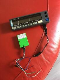Taxi meter + cannet pulse box