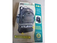Very useful Colorado Black Backpack/Coolbag combo. Used once - as new, in box.