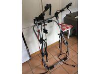 Bike rack for car. Halfords 3 bike