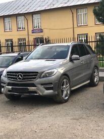 Mercedes ML 350 bluetec 255 bhp