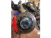 KAD 318mm 6 Pot Brake Upgrade Honda Civic 4x100 EG/EJ/EK