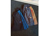 Adidas tracksuit bottoms 8 years