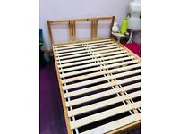 Ikea bed frame double