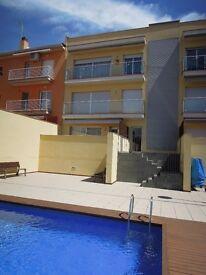 Second floor, penthouse apartment in Sant Feliu de Guixols on the Costa Brava