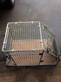 Guardsman dog crate for car
