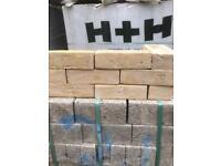 New yellow stock bricks