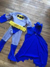Full batman costume age 4-6