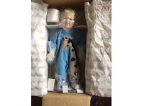 Ashton-drake first issue doll with a certificate of authenticity