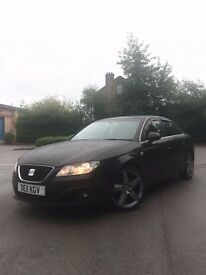 SEAT EXEO 2011 2.0 TDI SPORT BLACK 5 DOOR FULLY LOADED (LOW MILEAGE)