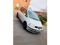 Seat alahambra sx tdi 5 door family car