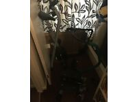 Exercise bike, stepper and ab cradle £50 to collect from Arborfield