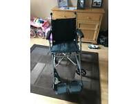 Stowaway lightweight wheelchair