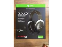 NEW UNOPENED HyperX CloudX Pro Gaming Headset for Xbox One/PC - Black