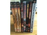 Clint Eastwood DVD selection