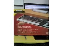Fellows deluxe keyboard drawer CRC80312 with soft touch wrist rest