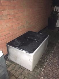 210 Litre Baffled water tank for transporting water eg for valeters, window cleaners etc