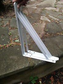 6 heavy duty angle brackets 500mm x 330mm