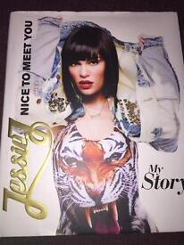 Jessie j nice to meet you book