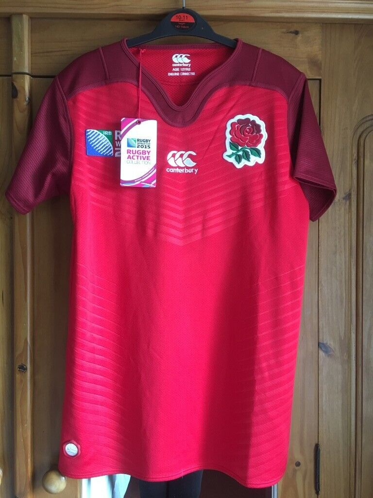 Canterbury RUGBY World Cup 2015 ENGLAND Souvenir Shirt Age 12 BNWT - pick  up from Gosport Hampshire | in Gosport, Hampshire | Gumtree