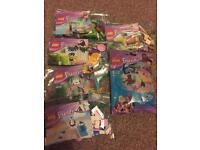 Lego friends poly bags 100% complete