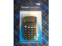 15 pocket calculators job lot