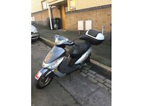 NEW MOT / 2011 PEUGEOT V CLIC 50cc RIDE AWAY £550
