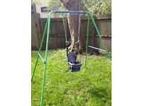 Free: Child's outdoor swing set (collection only)