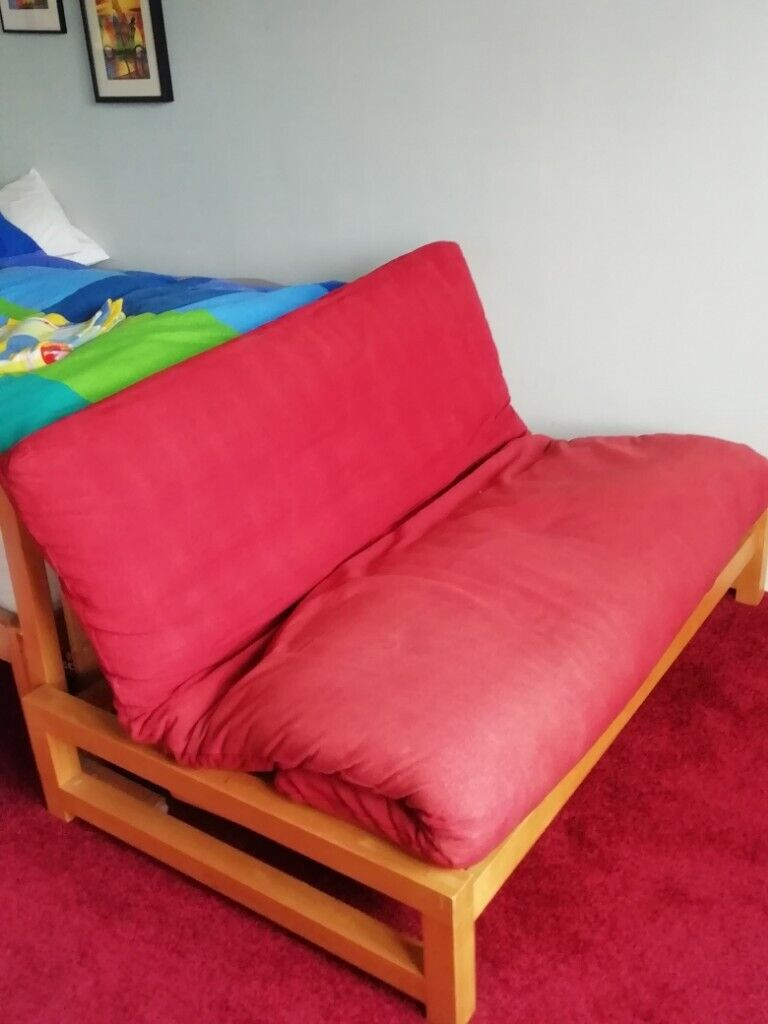 Futon Sy And Comfortable Washable Cover Easy To Prepare Put A In Southside Glasgow Gumtree