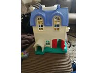 fisher price doll house
