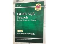 CGP GCSE Aqa French 9-1 Revision Guide Book £2.50