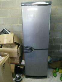 Silver fridge freezer good condition