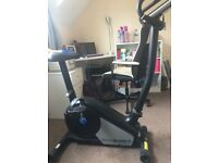 Roger Black Fitness Gold Exercise Bike.