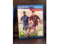 FIFA 15 PSVITA PlayStation PS3 PS4