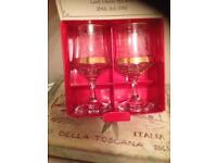 3 royal wedding commemorative goblets